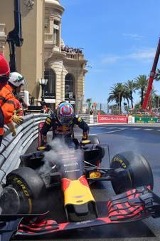 Verstappen denkt niet meer aan vangrail in Monaco