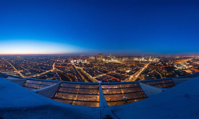 Het uitzicht vanaf The Penthouse.