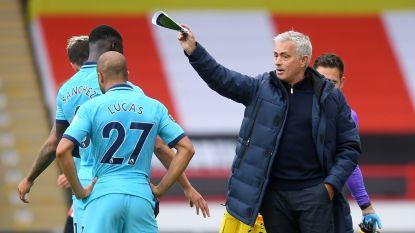 Deel III van Mourinho en de Belgen op de bank, nu met faliekant resultaat na goal en assist Sander Berge