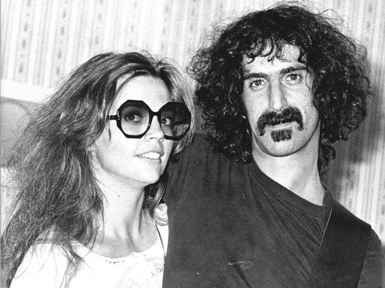 Frank Zappa. Beeld