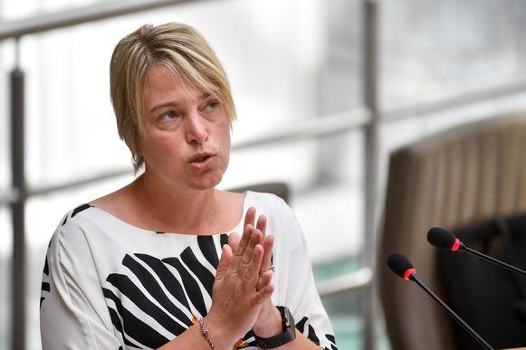 Vlaams minister van Natuur Joke Schauvliege (CD&V).