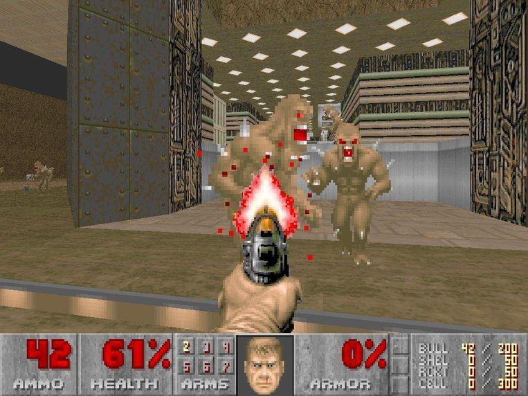 Beeld uit de originele 'Doom' (1993)