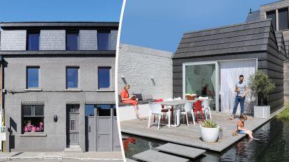 WOONVIDEO: Dit rijhuis blijft verrassen: ruim, kleurrijk, opvallende meubels én wat een tuin!