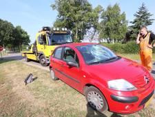 Botsing tussen fietsster en automobilist in Eersel;  vrouw naar het ziekenhuis