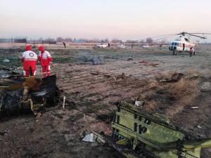 """Crash aérien à Téhéran: le Boeing a fait demi-tour après un """"incendie"""""""