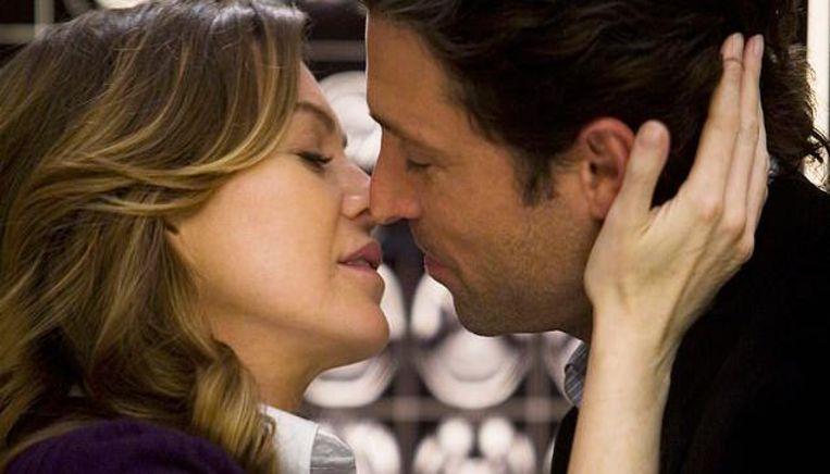 Meredith Grey en dokter Shepherd.
