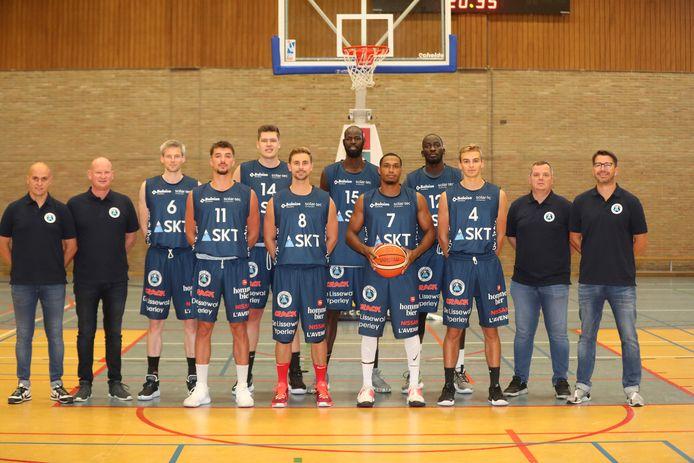 De competitie van Basket SKT Ieper in Top Division One zit er definitief op voor het seizoen 2020-2021.