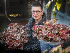 220 keramische poppy's, voor elke gevallene één
