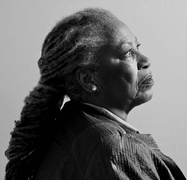 Toni  Morrisson (hier 77 jaar) schreef expliciet voor een zwart publiek.