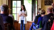 Karin mag als enige uit ons land naar het internationaal poëziefestival in Struga