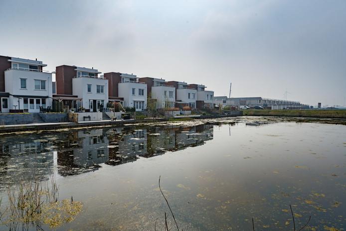 Er wordt weer volop gebouwd, zoals in de wijk Bosselaar-Zuid in Zevenbergen.