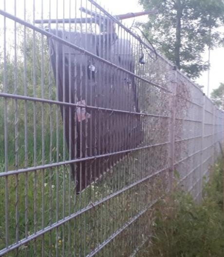 Dief op heterdaad betrapt bij afvalbrengstation in Waddinxveen