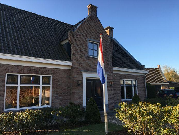 De vlag hangt in Kilder.