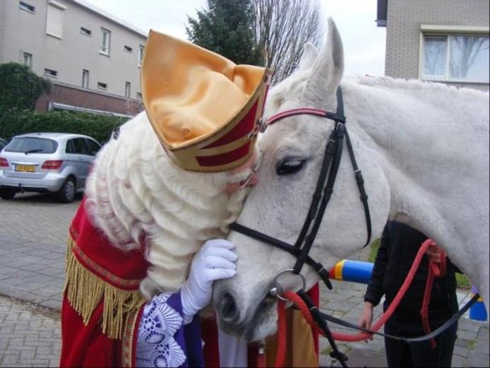 Amerigo en Sinterklaas.