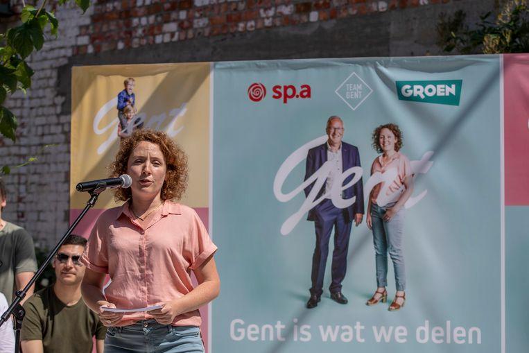 Gents schepen van Onderwijs Elke Decruynaere (Groen)