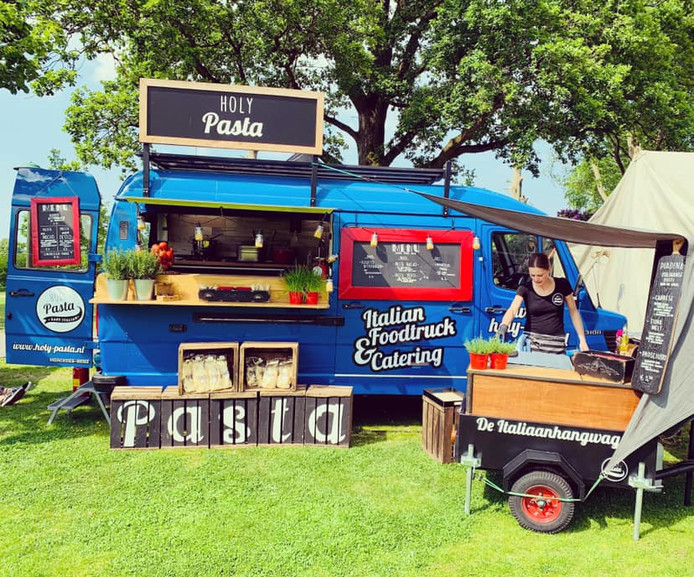 De foodtruck van Holy Pasta