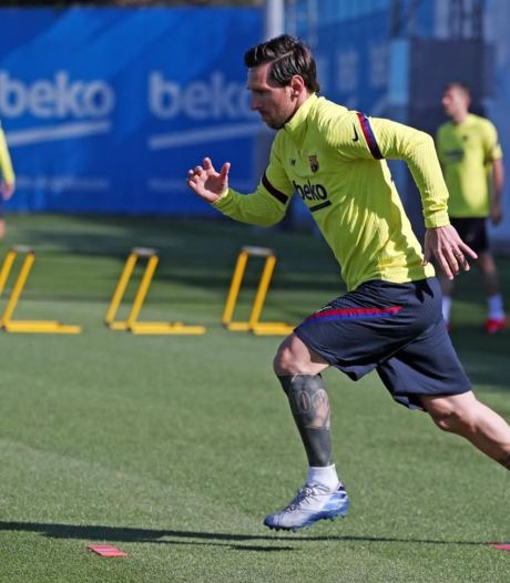 Messi souffre d'une petite contracture
