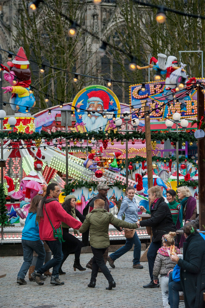 Dansen op de Parade tijdens Winterland Den Bosch