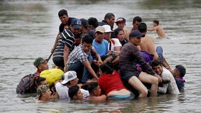 Duizenden Hondurese migranten hernemen tocht richting VS