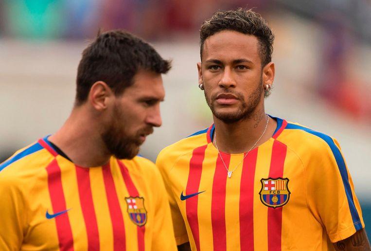 Messi en Neymar.