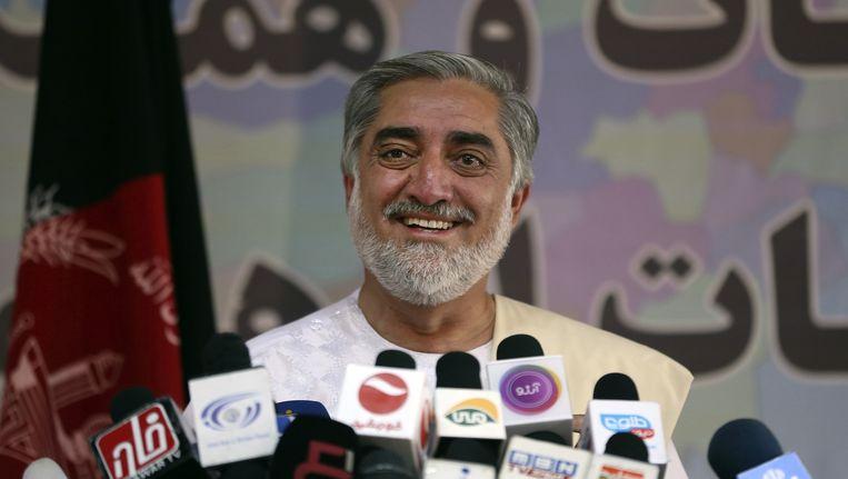 De Afghaanse presidentskandidaat Abdullah Abdullah.