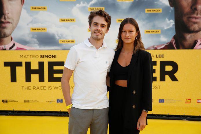 'D5R'-acteur Sander Provost en zijn vriendin.