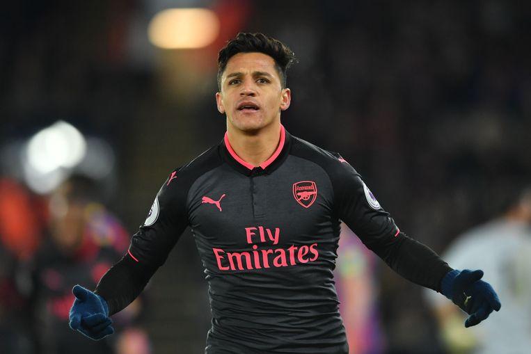 Sánchez scoorde donderdag nog twee keer voor Arsenal tegen Crystal Palace.
