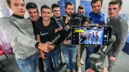 Deze studenten journalistiek kapen zondag alle sociale media van Kuurne-Brussel-Kuurne