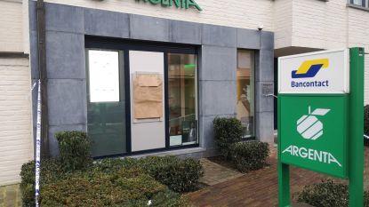 Politie onderzoekt mislukte plofkraak op Argenta-bankkantoor