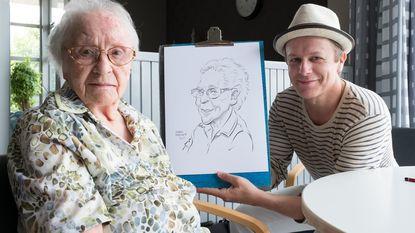 Karikaturist tekent 725 Puurse koppen