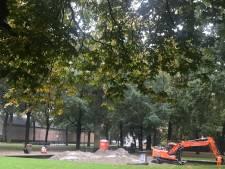 Park Valkenberg krijgt standbeeld Hercules terug