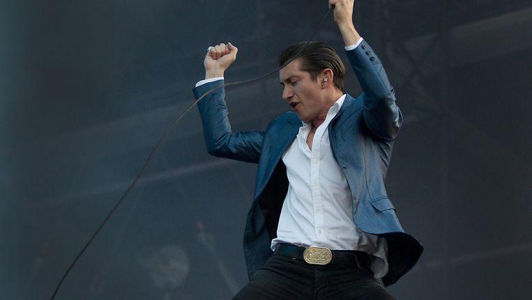 Alex Turner, frontman van Arctic Monkeys Beeld ANP