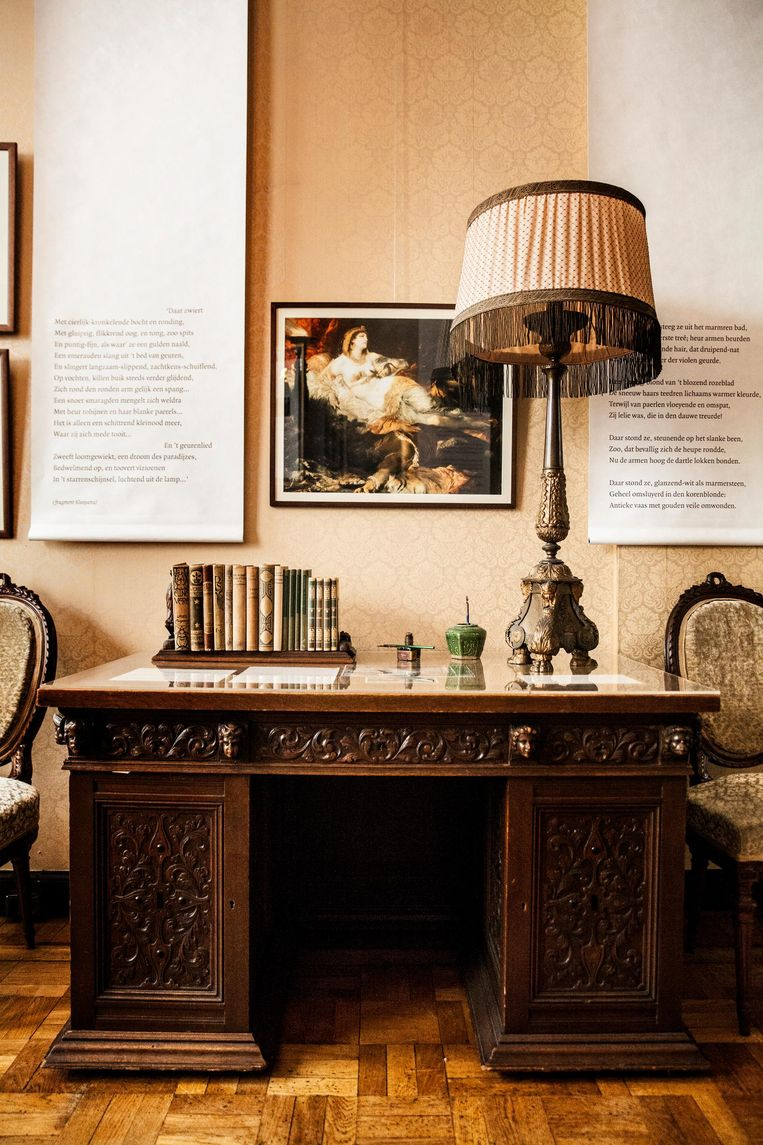 Couperus' bureau dat hij liet maken van de opbrengst van Eline Vere Beeld Aurélie Geurts
