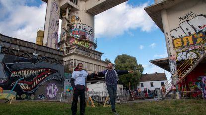 Sorry Not Sorry street festival voor het laatst aan oude betoncentrale