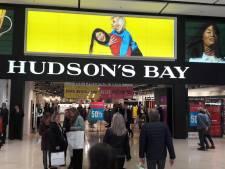 Rechter steekt stokje voor sluiting filialen Hudson's Bay in Amsterdam en Breda