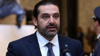 Libanese premier stelt ontslag uit