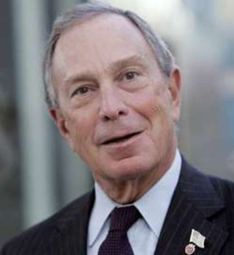 Michael Bloomberg, de nieuwste ster in 'Sex and the City'.