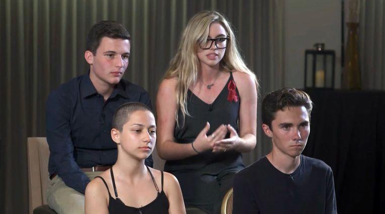 Na het bloedbad in hun school in Florida vorige week, eisen de tieners nu een strenger wapenbeleid.