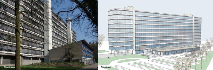 Transformatie van gebouw De Hogekamp op de UT-campus