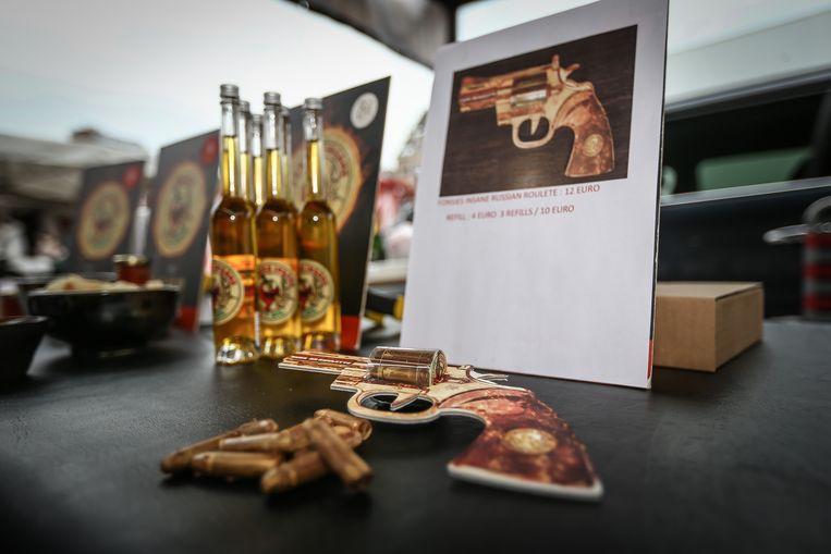 Russische Roulette met pikante chocoladekogels