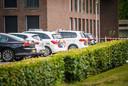 Politie doet onderzoek op Landgoed De Grote Beek.