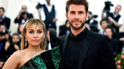 Miley Cyrus en Liam Hemsworth alweer uit elkaar