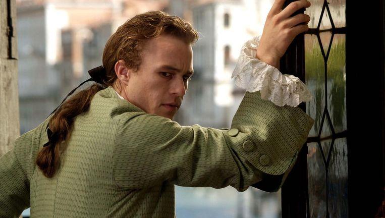 Heath Ledger in Casanova van Lasse Hallström. Beeld null