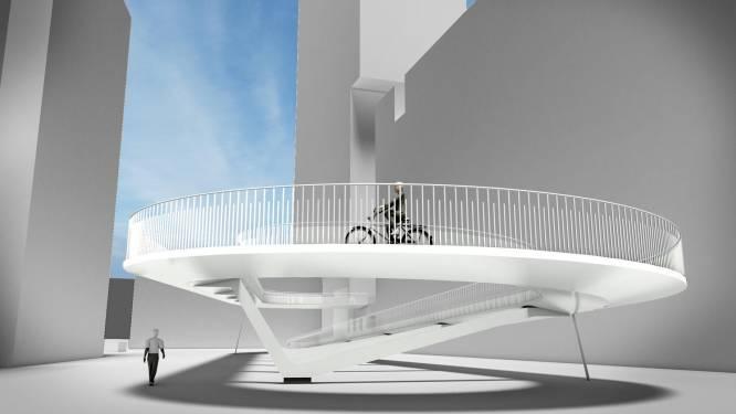 Voorbereidende werken voor fietshelling Parkbrug starten op 16 november
