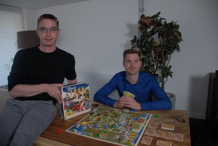 Dennis Merkx uit Liempde (links) en Kees Meis uit Den Bosch verzonnen