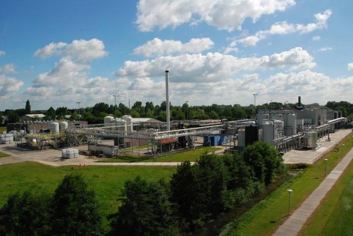Chemische fabriek Sachem bij Zaltbommel.