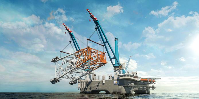 China snijdt eerste staal voor Zeeuwse offshore-kolos: de ...