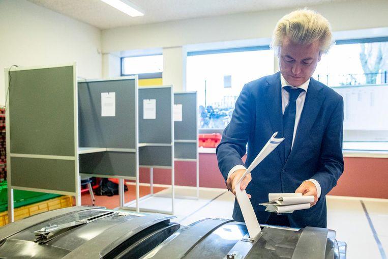 Geert Wilders van PVV Beeld ANP
