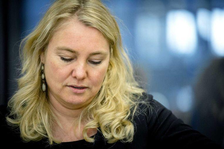 Minister Melanie Schultz van Haegen van Infrastructuur. Beeld anp