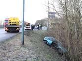 Bestuurder rijdt andere automobilist van weg af op A59 Waspik